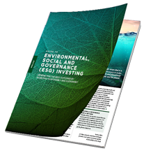ENVIRONMENTAL SOCIAL AND GOVENANCE INVESTING - July / August 2020